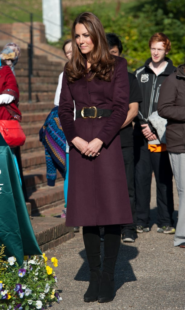 Kate Middleton toured a community garden and Newcastle Civic Centre in Newcastle upon Tyne.