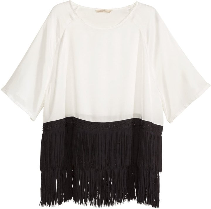 H&M Fringed Top
