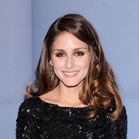 Pictures of Olivia Palermo at the Valentino Garavani Virtual Museum With Curly Hair