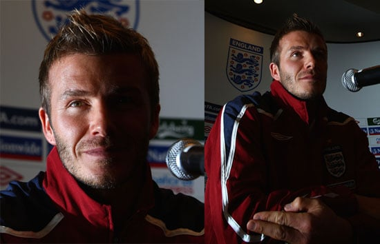 Getting Intimate With David Beckham