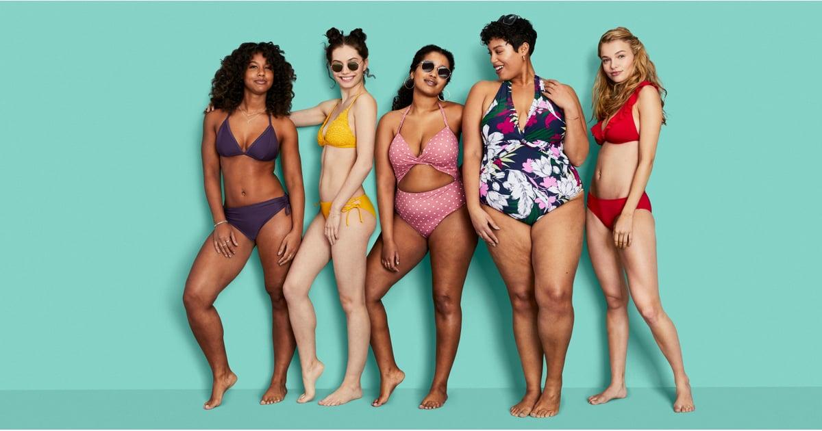 Target Size Inclusive Swimsuit Collection Kona Sol Popsugar Fashion
