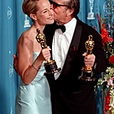 Jack Nicholson and Helen Hunt were the king and queen of the 1998 ceremony, scoring statuettes for best actor and best actress for As Good as It Gets.