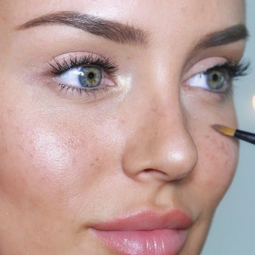 Instagram Pictures of Fake Freckles Beauty Trend