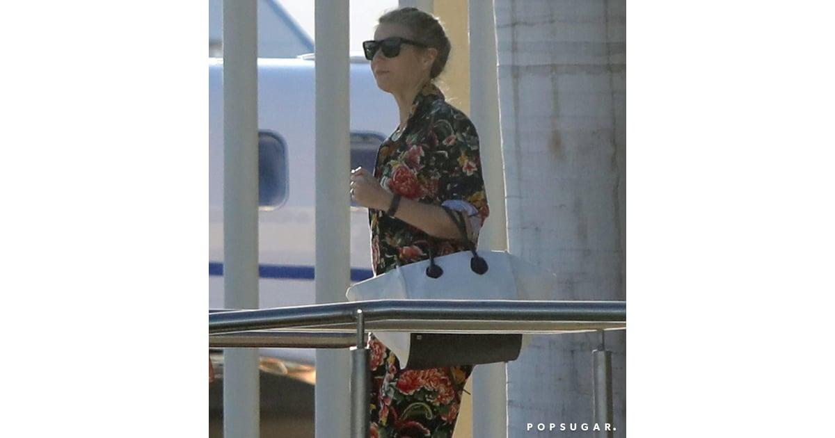 2ccffa38fb9 Gwyneth Paltrow Floral Jumpsuit in Mexico