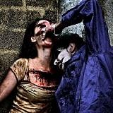 Joker and Bloody Victim