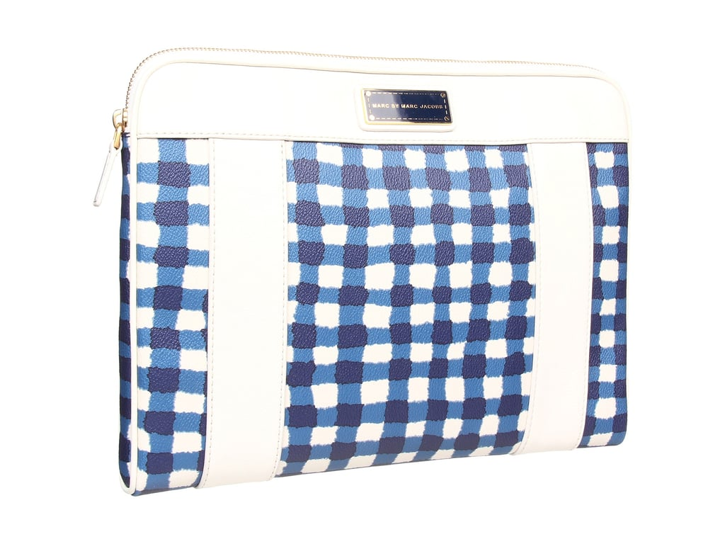 Laptop cases don't have to be boring! We love Marc by Marc Jacobs's perfect-for-Summer watercolor checker style ($228).