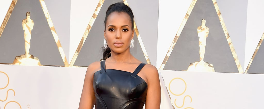 Kerry Washington Talks Oscars 2016 Controversy on Red Carpet