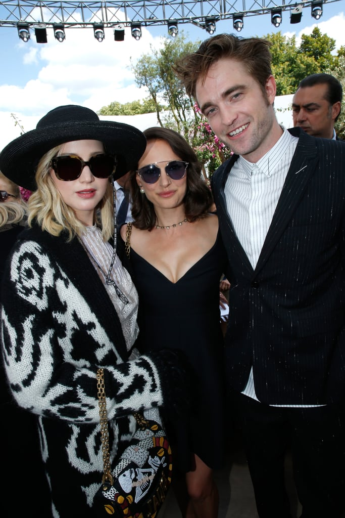 When She Casually Mingled With Natalie Portman and Robert Pattinson During Fashion Week