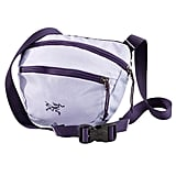 You can rock this Arcteryx Maka 1 Bag ($39) as a belt bag or just toss it over your shoulder. I'm a fan of the purple, but it also comes in two other cool colored options.