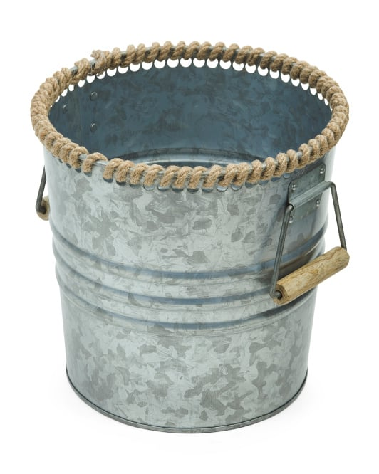 Made in India Small Galvanized Bucket