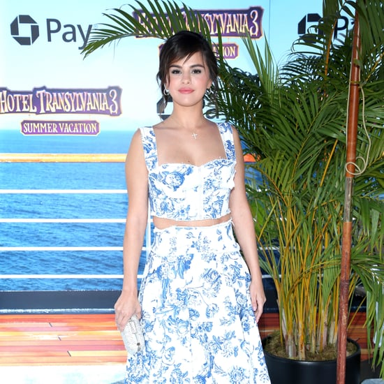 Selena Gomez's Crop Top and Skirt Hotel Transylvania 3