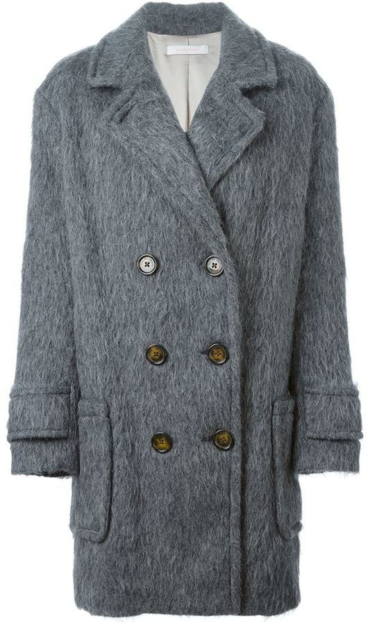 See By Chloé Matted Double-Breasted Coat ($680)