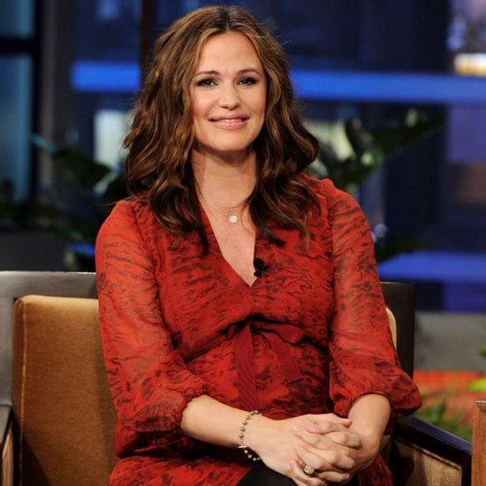 Pregnant Jennifer Garner Tonight Show Baby Pictures