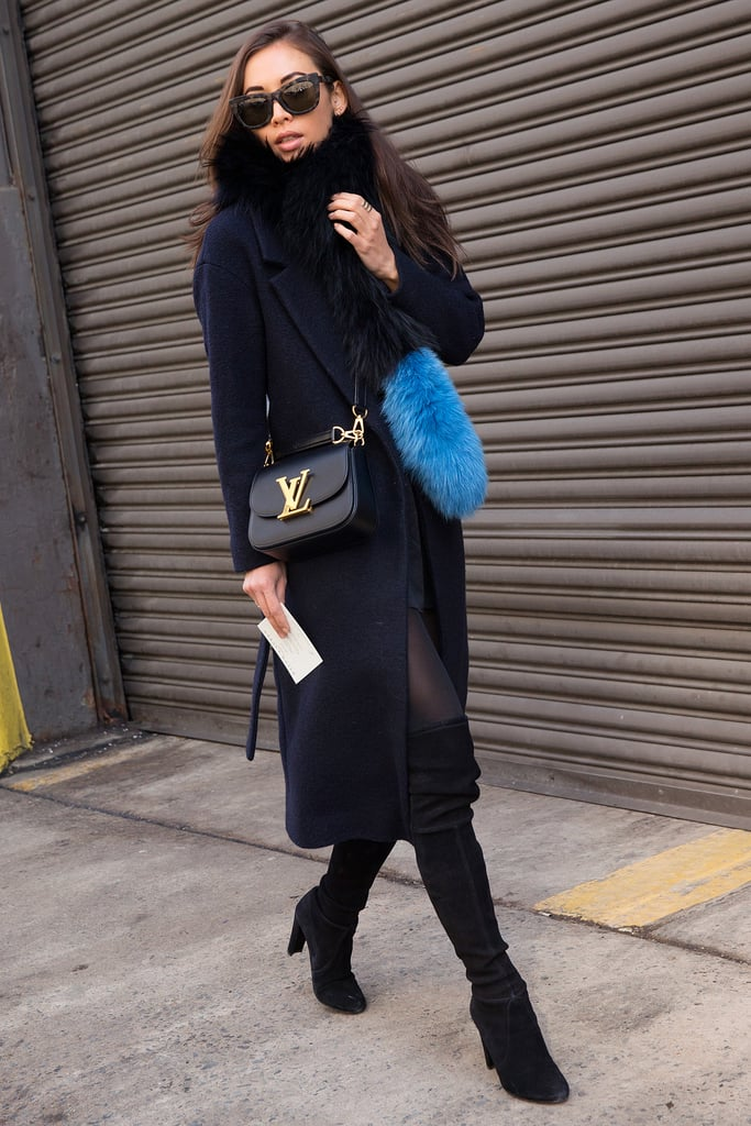 Street style stars at new york fashion week fall 2015 Street style ny fashion week fall 2015