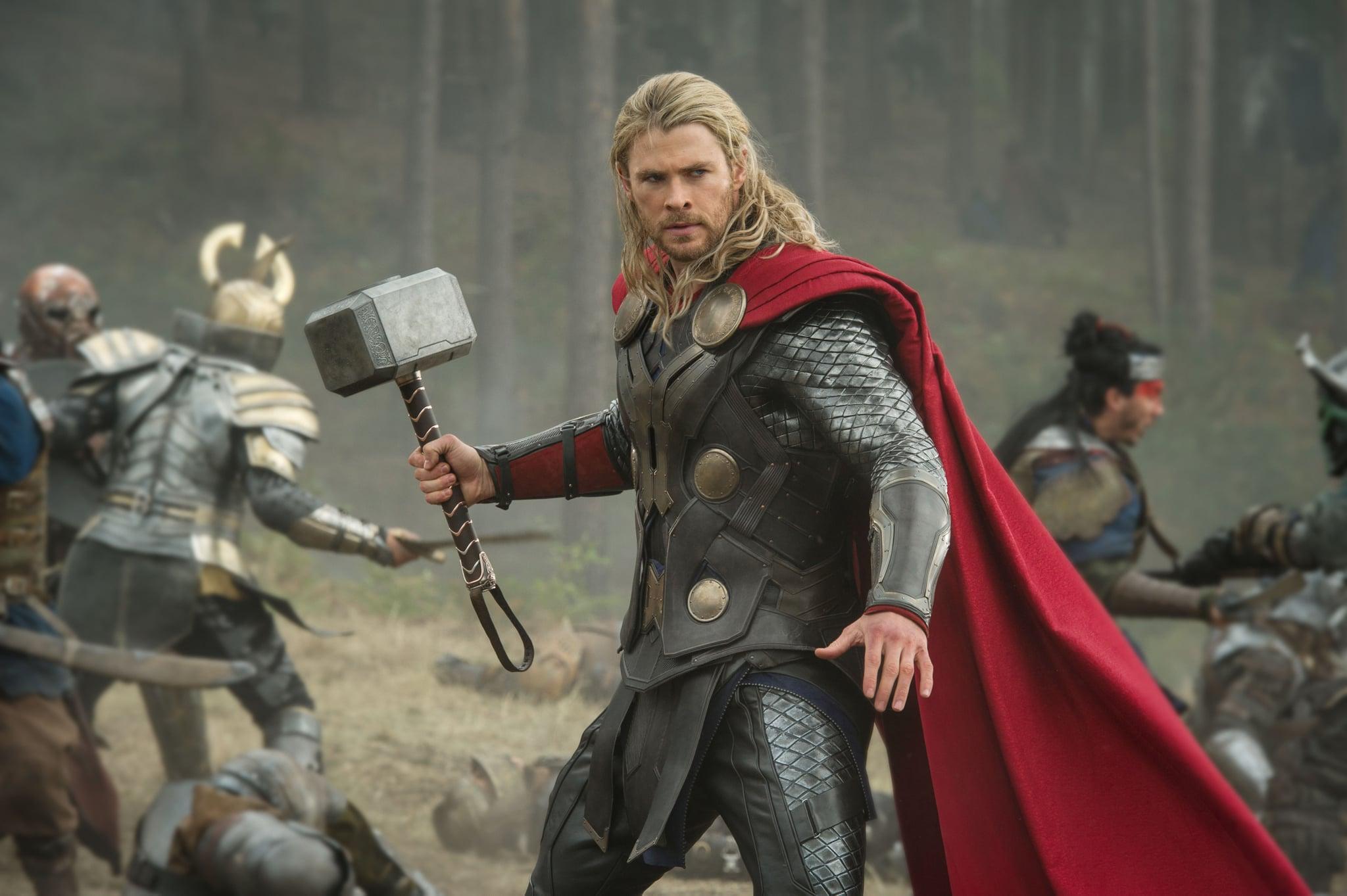 THOR: THE DARK WORLD, Chris Hemsworth as Thor, 2013. ph: Jay Maidment/Walt Disney Studios/courtesy Everett Collection