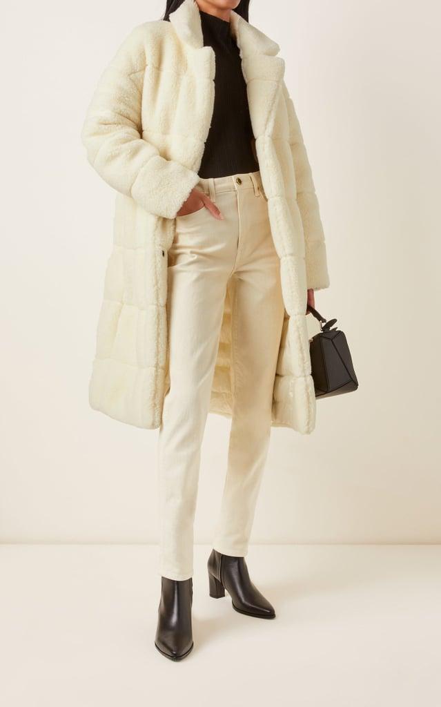 Moncler Bagaud Reversible Eco-Fur Down Coat