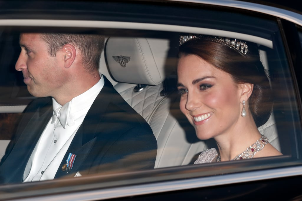 Kate Middleton and Prince William Dazzle at a State Banquet With the Spanish Royals
