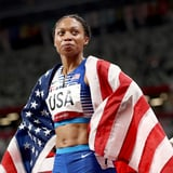 The $8 Beauty Product Allyson Felix Relies on While Wearing Protective Styles