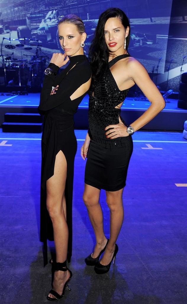 Karolina Kurkova and Adriana Lima