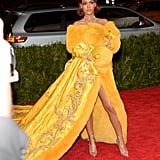Rihanna at the Met Gala 2015 | Pictures