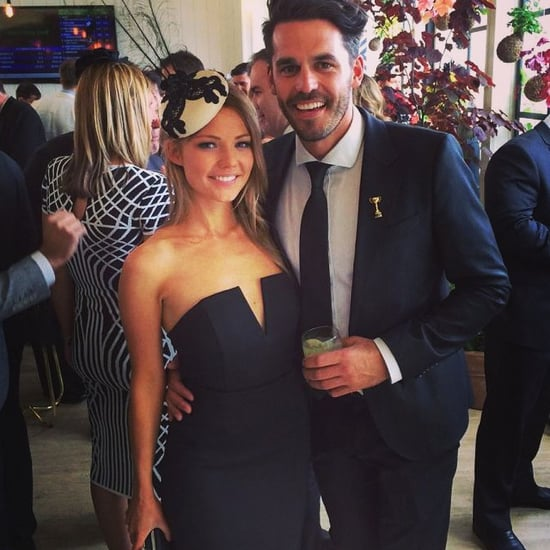 Sam Frost and Blake Garvey Encounter at Derby Day 2014