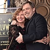 Pictured: Marilou York and Mark Hamill.