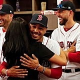 Meghan even got to meet Red Sox player Mookie Betts, who is one of her distant relatives!