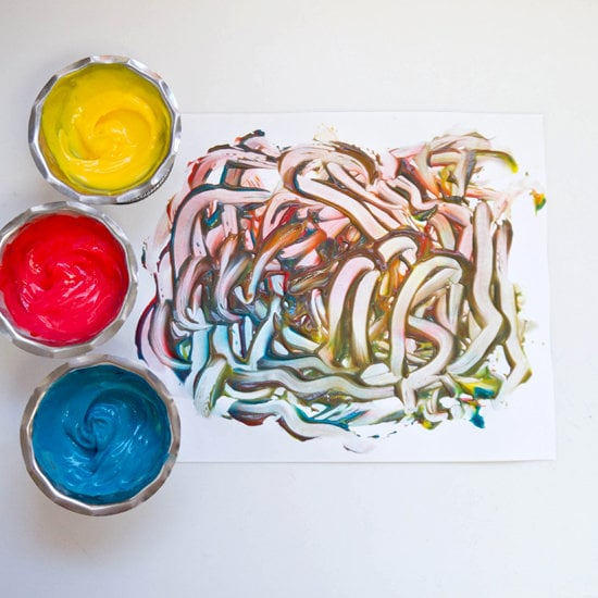 Make Finger Paint That You Can Eat!