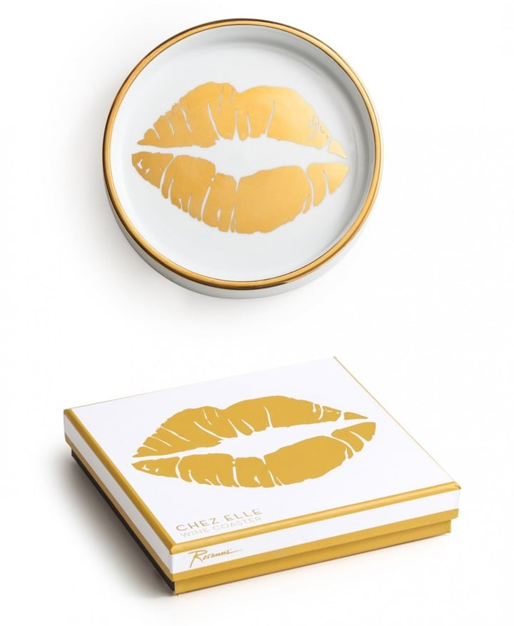 Golden Kiss Coaster ($18)