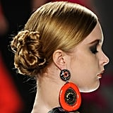 The Twisted Chignons at Naeem Khan