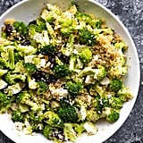 Broccoli Salad with Almonds and Quinoa