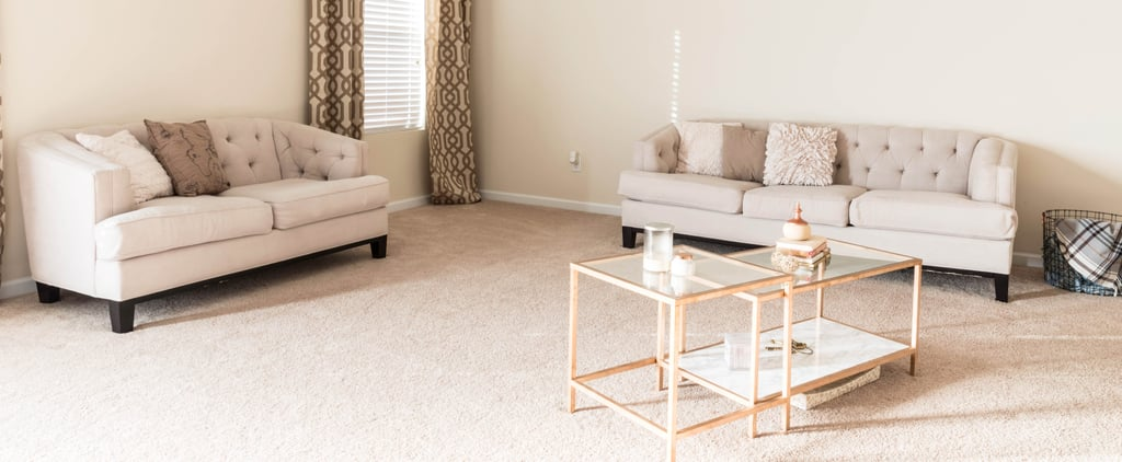 This Boring Beige Living Room Is Unrecognizable After a Lowe's Makeover