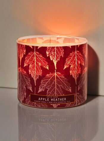 Bath & Body Works Apple Weather 3-Wick Candle