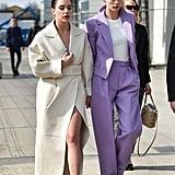Cara Delevingne's Street Style at Paris Fashion Week