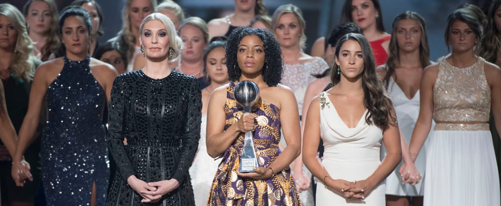 Survivors of Larry Nassar's Abuse Accept Arthur Ashe Award