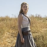 Where'd the Rest of Dolores's Signature Sleeved Dress Go?