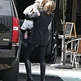 Angelina Jolie Post-Oscars Pictures With Knox and Vivienne