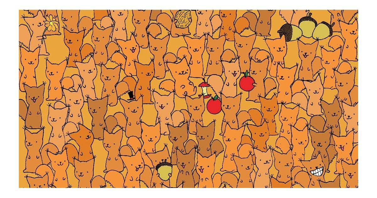 Can You Spot the Mouse in This Squirrel Brain Teaser in Less Than 2 Minutes?