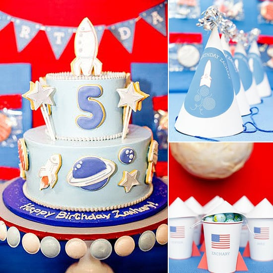 Space Birthday Party For Kids