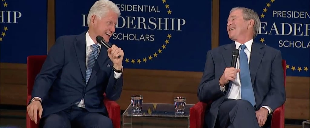 Friendship BetweenGeorge W. Bush and Bill Clinton