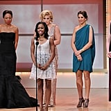 Gabby Douglas was on stage at the awards in NYC.