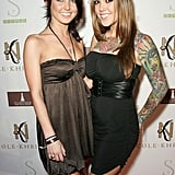 Audrina and Casey Patridge