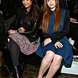 Shay Mitchell and Holland Roland sat front row at the DKNY show in NYC in February.
