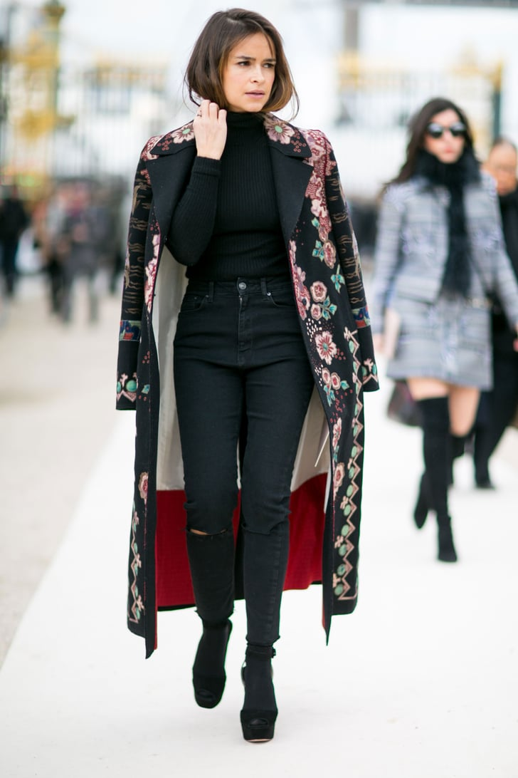 Day 8 Paris Fashion Week Street Style Autumn 2016 Popsugar Fashion Uk Photo 71