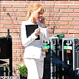 Gwyneth Paltrow was on the set of Iron Man 3.