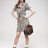 This leopard playsuit (£13) can be worn now with bare legs and with tights on colder days.