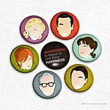 Mad Men Magnets ($8 for seven)