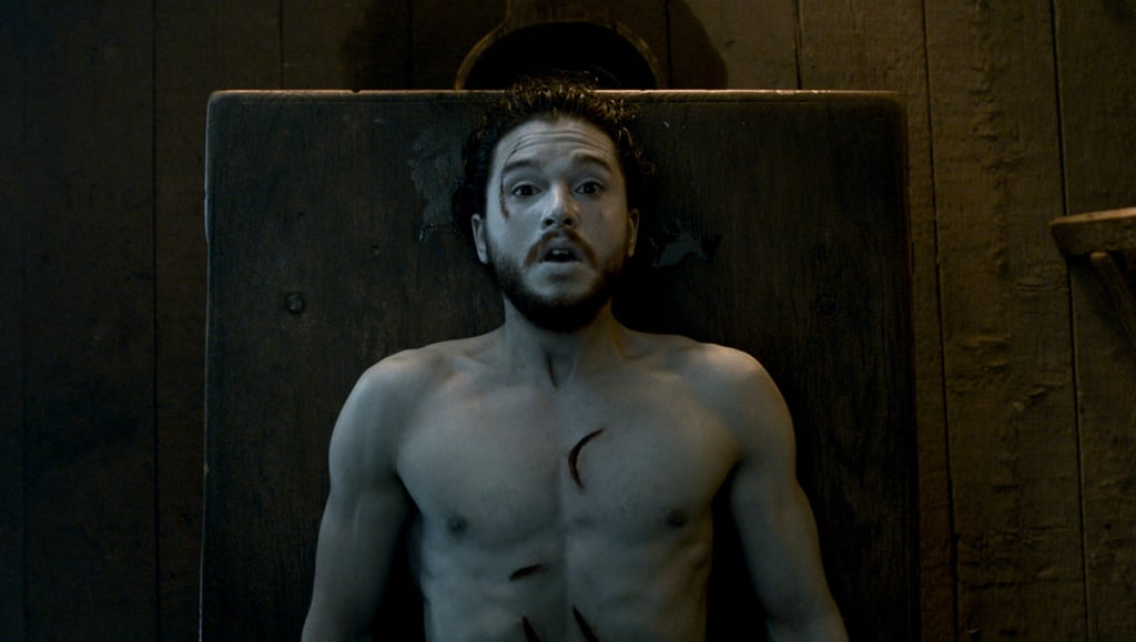 Jon Snow Waking Up From the Dead on Game of Thrones