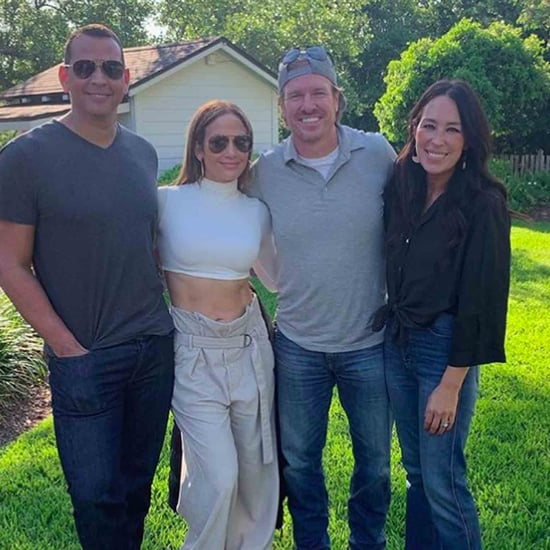 J Lo in Waco With Joanna and Chip Gaines