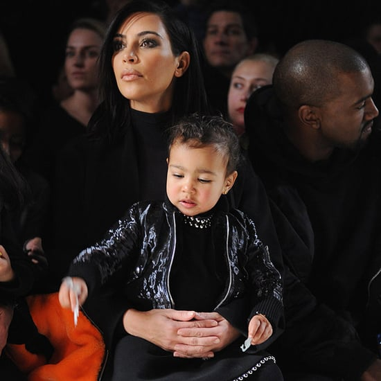 North West Wearing Designer Clothes
